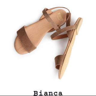 イエナ(IENA)のイエナ購入 Bianca サンダル ベージュ★ドゥーズィエムクラス トゥデイフル(サンダル)