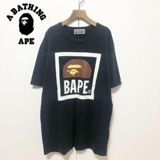 A BATHING APE - 【A BATHING APE】ボックスロゴ クルーネックTシャツ XL
