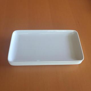 ムジルシリョウヒン(MUJI (無印良品))の無印良品  角皿3枚   (食器)