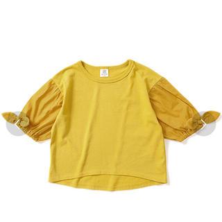 ZARA - 新品未使用!devirock デビロック リボン付きスリーブTシャツ