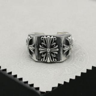 クロムハーツ(Chrome Hearts)のK117クロムハーツクロスリング(リング(指輪))