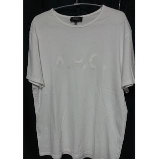 アーペーセー(A.P.C)のA.P.C.ロゴ刺繍Tシャツ(Tシャツ/カットソー(半袖/袖なし))