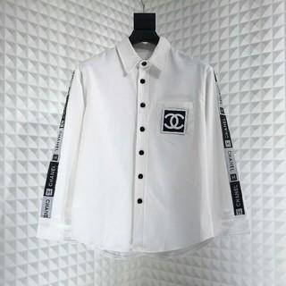 CHANEL - CHANELシャネル vintage Tシャツ ジャケット 長袖 薄手 メンズL