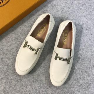TOD'S - 早い者勝ちTOD'S トッズ レディース ローファー/革靴 ホワイト 37