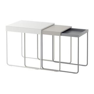 イケア(IKEA)の★3点セット ネストテーブル◆◆ 新品・未封・送料込/再入荷(コーヒーテーブル/サイドテーブル)