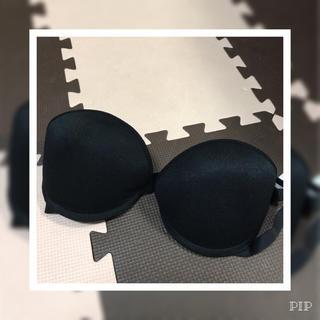 新品 ブラジャー D80 黒(ブラ)