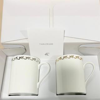 ヨンドシー(4℃)の4℃ ペアマグカップ 新品(グラス/カップ)