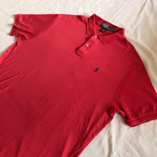 ラルフローレン(Ralph Lauren)のRalph Lauren ラルフローレン ポロシャツ 刺繍ロゴ 90s 古着(ポロシャツ)