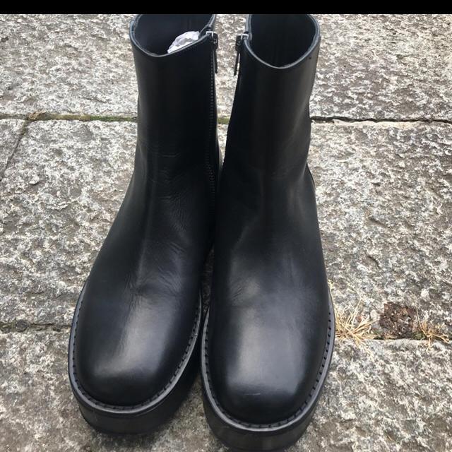 Ann Demeulemeester(アンドゥムルメステール)のAnn  Demeulemestar アンドゥムルメステール ブーツ メンズの靴/シューズ(ブーツ)の商品写真