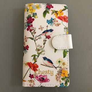 チェスティ(Chesty)のレア chestyの手帳型スマホケース(モバイルケース/カバー)