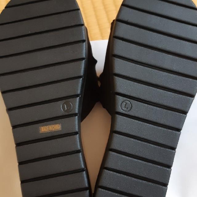 Le Talon(ルタロン)のサンダル 黒 Lサイズ レディースの靴/シューズ(サンダル)の商品写真