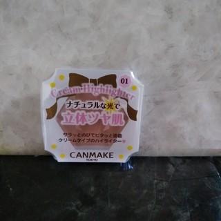CANMAKE - ●新品 キャンメイク クリームハイライター 01