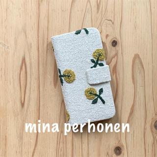 ミナペルホネン(mina perhonen)の【55】skip♡ミナペルホネン♡ iPhone6/6s手帳型ケース(iPhoneケース)
