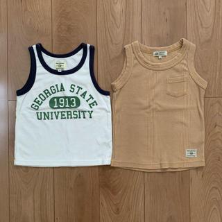 マーキーズ(MARKEY'S)のマーキーズ タンクトップ 2枚組 120(Tシャツ/カットソー)
