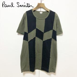 Paul Smith - 【Paul Smith】パッチワークデザイン クルーネックTシャツ L