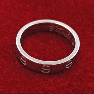 カルティエ(Cartier)のカルティエ ミニラブリング ホワイトゴールド(リング(指輪))
