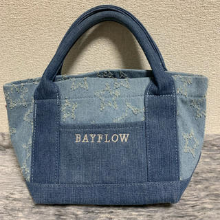 ベイフロー(BAYFLOW)のBAYFLOW トート S デニム スター(トートバッグ)