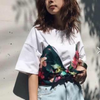 アメリヴィンテージ(Ameri VINTAGE)のARIANNA BIKINI TEE   ビキニTシャツ(Tシャツ(半袖/袖なし))