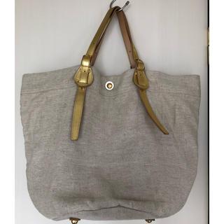デプレ(DES PRES)の新品 未使用 DES PRES タグ付き リネン ショルダーバッグ(ショルダーバッグ)
