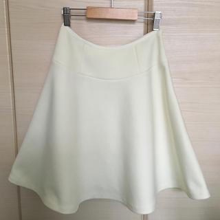 新品♡デミルクスビームス オフホワイトスカート
