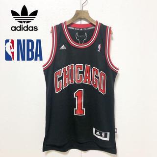 adidas - 【adidas】NBA シカゴブルズ #1 デリックローズ ユニフォーム S