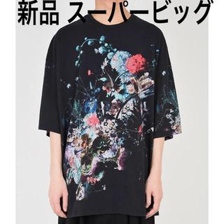 ラッドミュージシャン(LAD MUSICIAN)の新品 ladmusician 2019ss 花柄 スーパービッグ Tシャツ(Tシャツ/カットソー(半袖/袖なし))