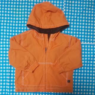 babyGAP - gap 90 オレンジ ウインドブレイカー パーカーアウター
