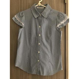ストロベリーフィールズ(STRAWBERRY-FIELDS)のストロベリーフィルズ  ストライプシャツ(Tシャツ(半袖/袖なし))