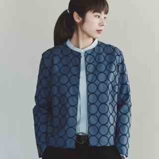 mina perhonen - 希少40サイズ/ミナペルホネン直営店限定tambourineジャケット完売今季