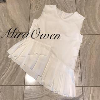 ミラオーウェン(Mila Owen)のミラオーウェン未使用(カットソー(半袖/袖なし))