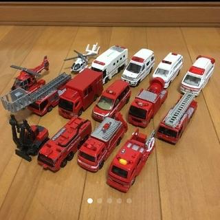 Takara Tomy - トミカ 消防車 救急車 15台 セット