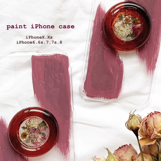 paint iPhone case(スマホケース)
