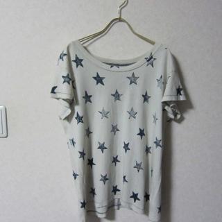 アパルトモンドゥーズィエムクラス(L'Appartement DEUXIEME CLASSE)のCurrent Elliott カレントエリオット 星柄Tシャツ(Tシャツ(半袖/袖なし))