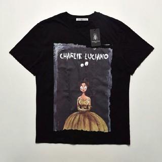 送料無料 Charlie Luciano 19ss Tシャツ ブラック