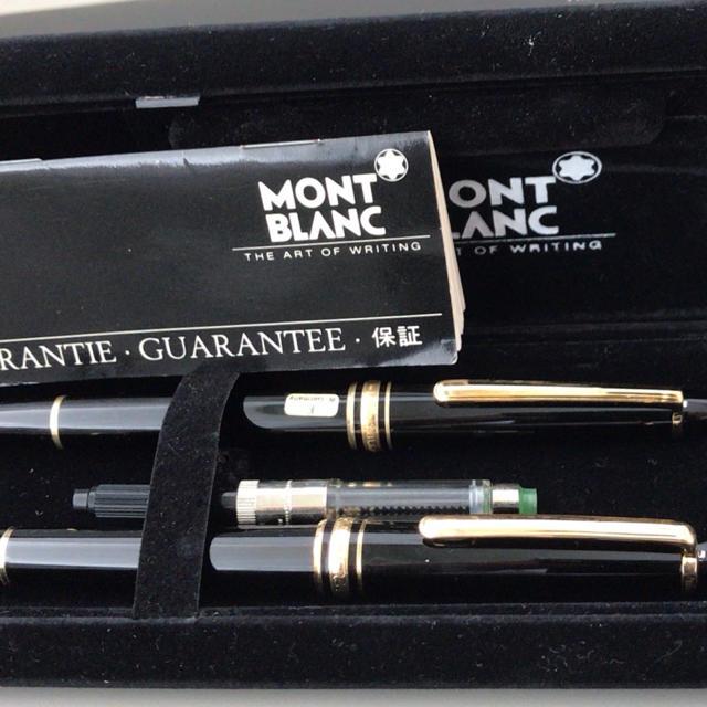 MONTBLANC(モンブラン)のモンブラン万年筆 ボールペン インテリア/住まい/日用品の文房具(ペン/マーカー)の商品写真