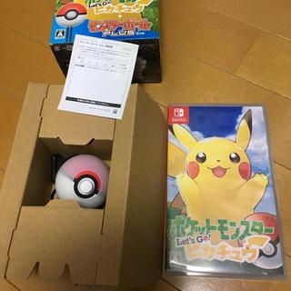 Nintendo Switch - ポケットモンスター Let's Go! ピカチュウ モンスターボール Plus…