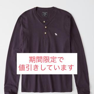 アバクロンビーアンドフィッチ(Abercrombie&Fitch)の長袖アイコンヘンリーシャツ(Tシャツ/カットソー(七分/長袖))