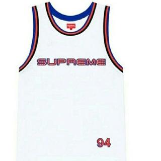 Supreme - Supreme Rhinestone Basket ball Jersey