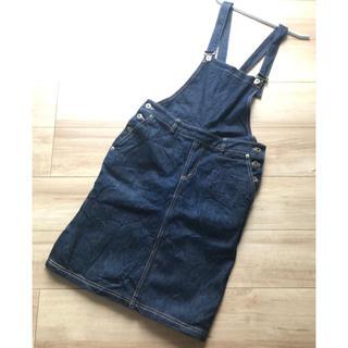 イエナ(IENA)のイエナ☆日本製綿100%☆ジャンパースカート(ひざ丈ワンピース)
