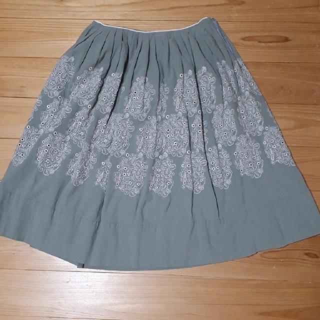 mina perhonen(ミナペルホネン)のミナペルホネン minaperhonen sometimes lucky レディースのスカート(ひざ丈スカート)の商品写真