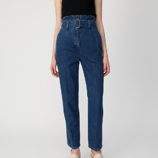 moussy WAIST BELT TAPERED DENIM