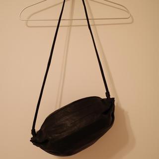 マリメッコ(marimekko)のショルダーバッグ marimekko マリメッコ レザー ブラック Kanoco(ショルダーバッグ)