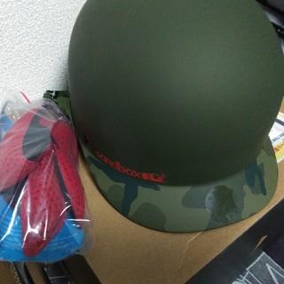 バートン(BURTON)のsandbox スノーボードヘルメットLサイズ(その他)