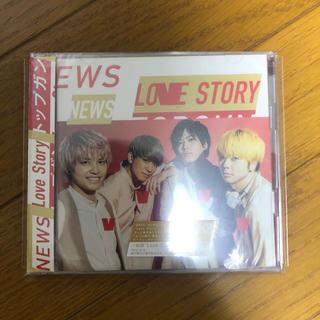 ニュース(NEWS)のnews トップガン/love story 初回love story盤(ポップス/ロック(邦楽))