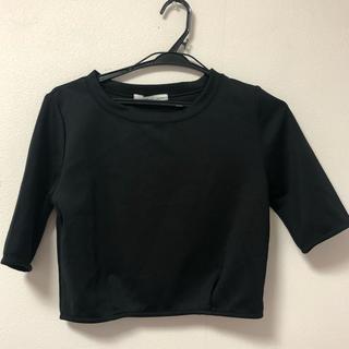 moussy - moussyショート丈Tシャツ
