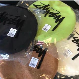 ステューシー(STUSSY)のステューシー ベレー帽(ハンチング/ベレー帽)