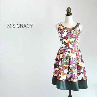 M'S GRACY - M'S GRACY エムズグレイシー ワンピース
