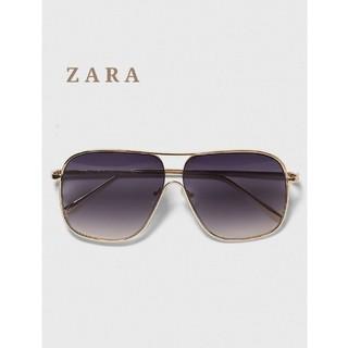 ZARA - ZARA ザラ グラデーションレンズ サングラス ゴールドフレーム