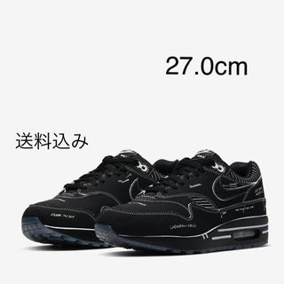 NIKE - AIR MAX 1 SKETCH TO SHELF  黒