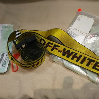 オフホワイト(OFF-WHITE)のOFF WHITE  ベルト  1回使用  美品(ベルト)